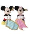Pluche Minnie Mouse knuffeldoek 25 cm